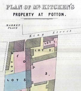 Lot 2 is the George in this plan of 1847 [WG2441]